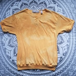 VINTAGE TSHIRT MEDIUM SOFT TIE DYE BLEACH RETRO CU